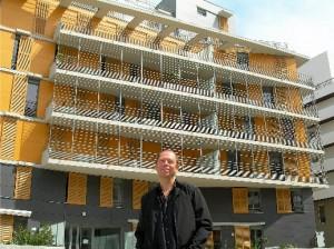 Pierre Kermen à la Caserne de Bonne