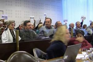 Les habitants mobilisés (photo GK, tous droits réservés)