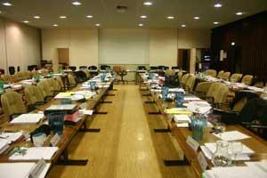 salle du conseil municipal de Grenoble