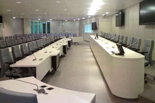 Salle du Conseil de la Métro