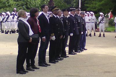 Cérémonie du 8 mai à Grenoble