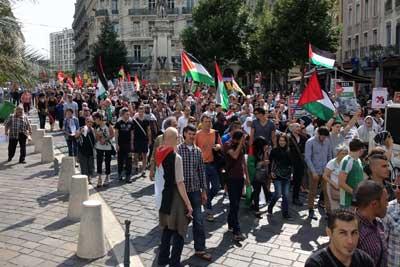 Gaza Grenoble 9 août 2014