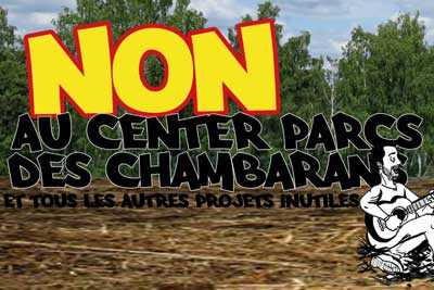 Non au Center Parcs