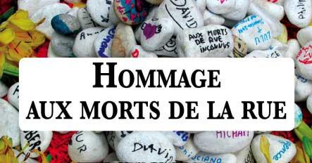 Hommage Morts De Rue