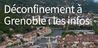 Plan De Deconfinement Et D Adaptation De La Ville De Grenoble Ades Rouge Et Vert